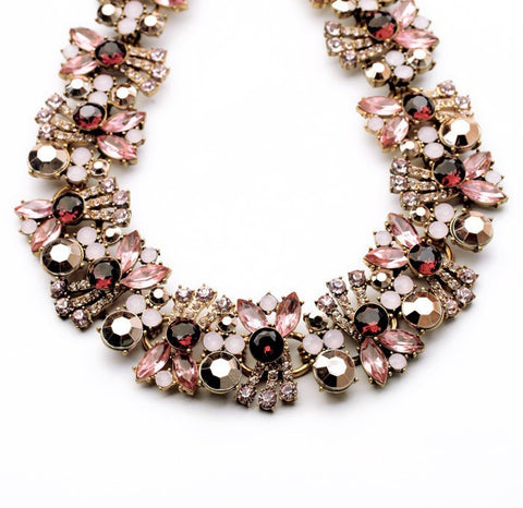 Fiona Necklace pink