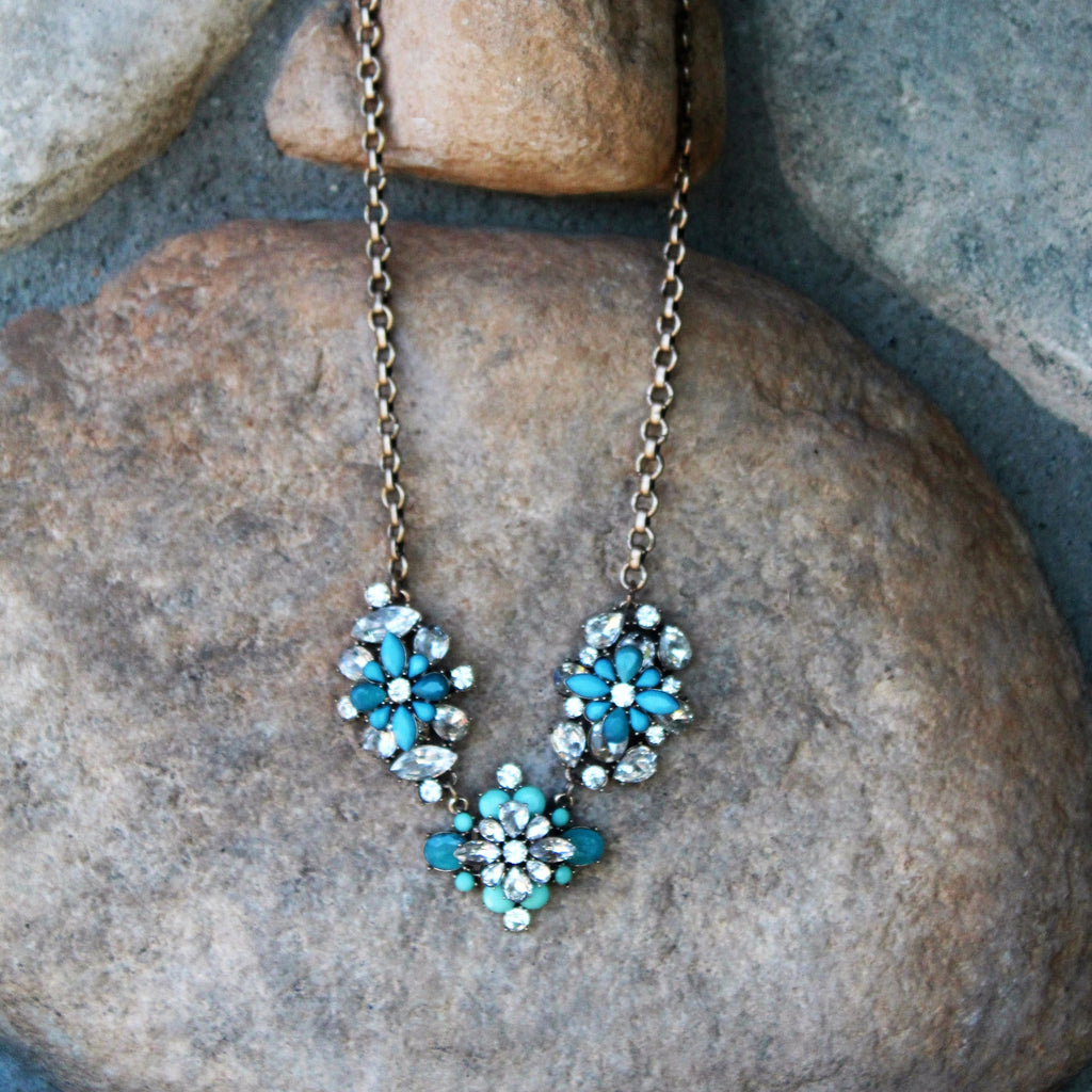 Hanna Necklace Teal