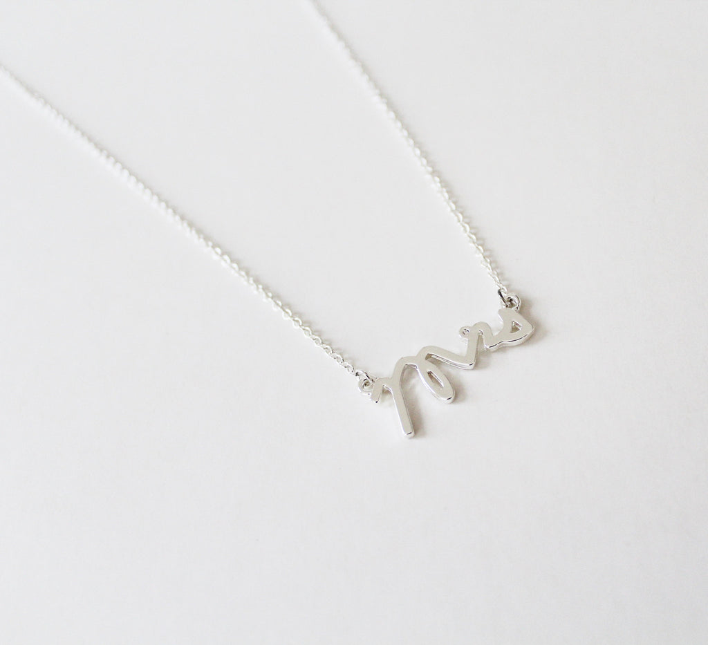 MRS charm Necklace