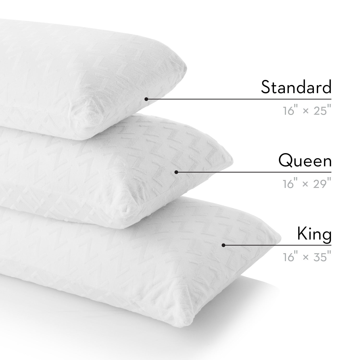 Z Latex Pillow High Loft Firm Essential Sleep