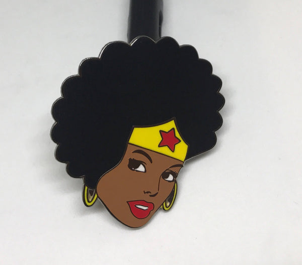 Super Nubian Woman pin
