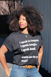 What Language Do You Want Tee
