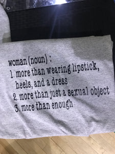 Woman definition tee