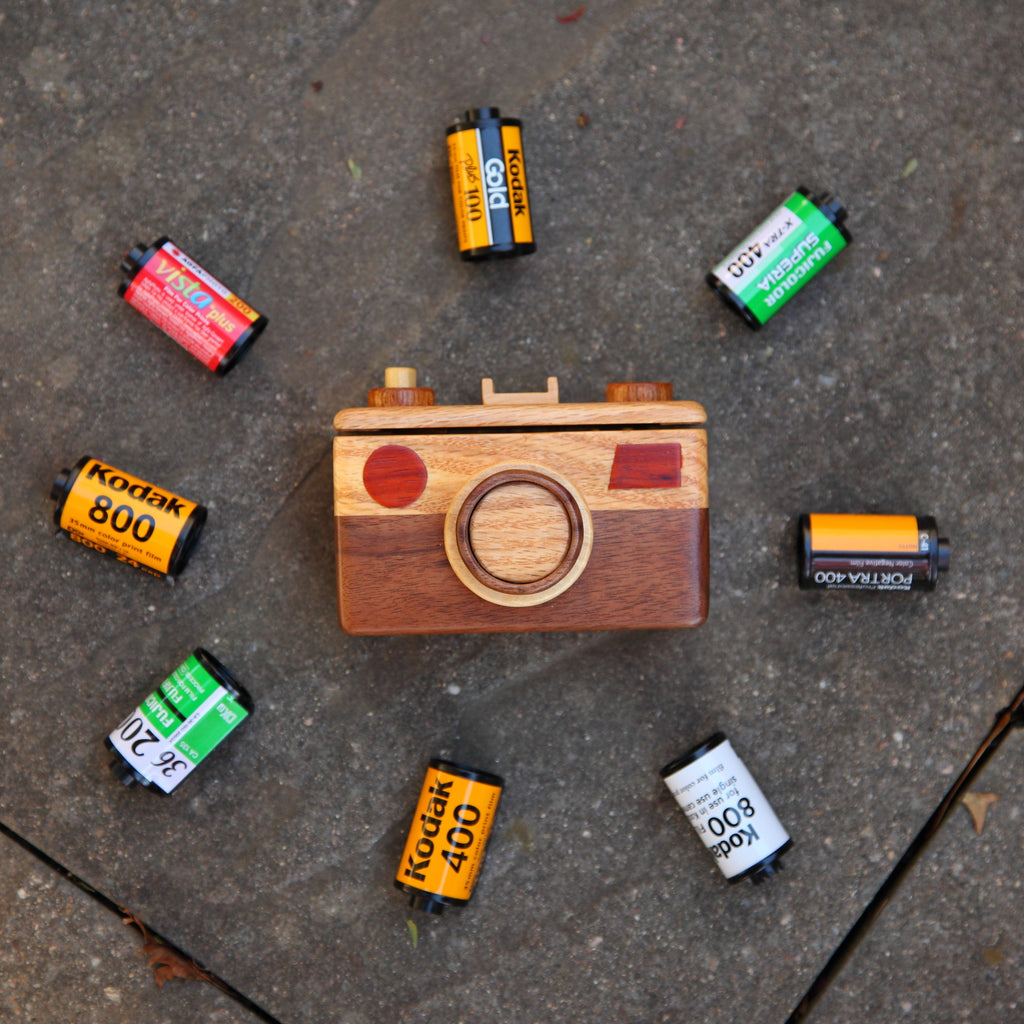 The Story of The 35mm Wood Camera