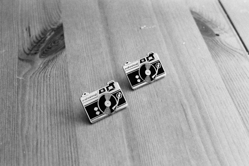 TogTees Audiovisual Enamel Lapel Pins Gift for Photographers