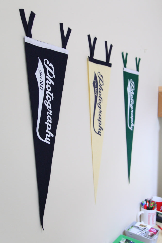 TogTees Photography Since 1827 Pennants