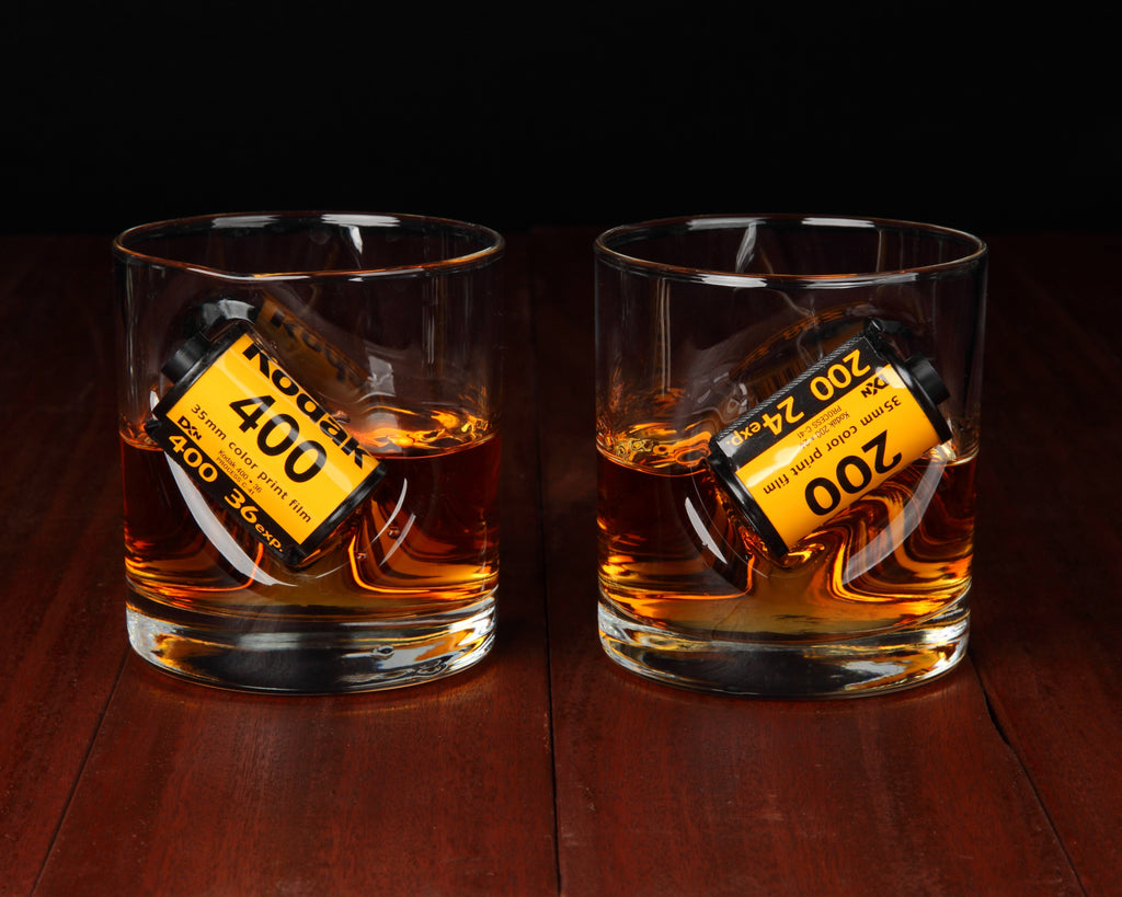 35mm Whisky Glass Photographer Gift for Film Analog Photographers