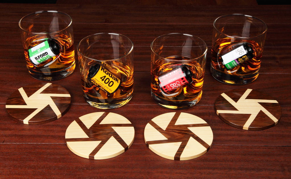 35mm Whisky Glass Gift Set for Film Photographers