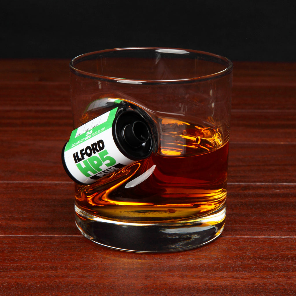 35mm Whisky Glass Ilford HP5 Gift for Film Photographers