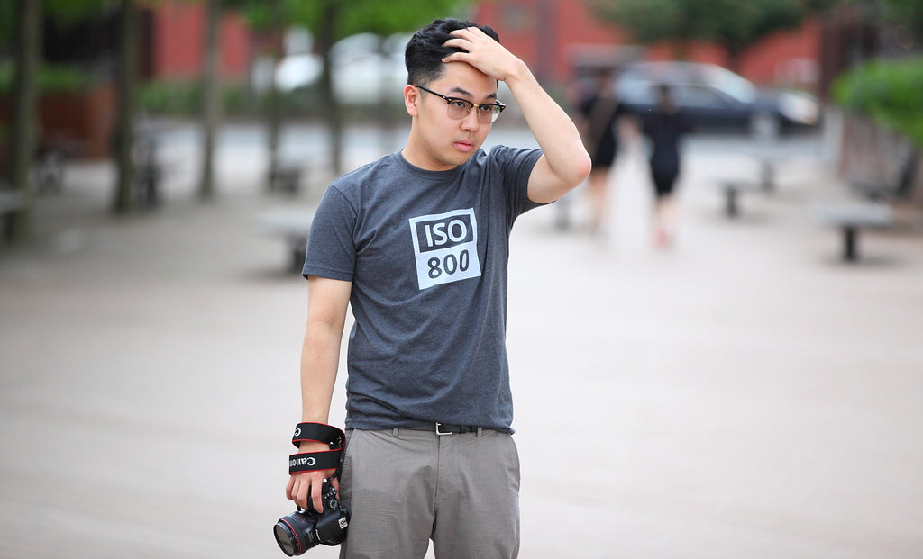 TogTees ISO 800 Tshirt for Photographers