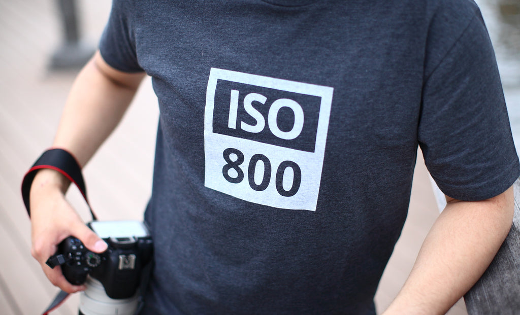TogTees ISO 800 T-shirt for Photographers