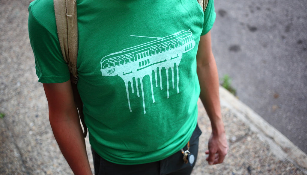 TogTees StreetsDept Collab Gear Tee Philly Photographer