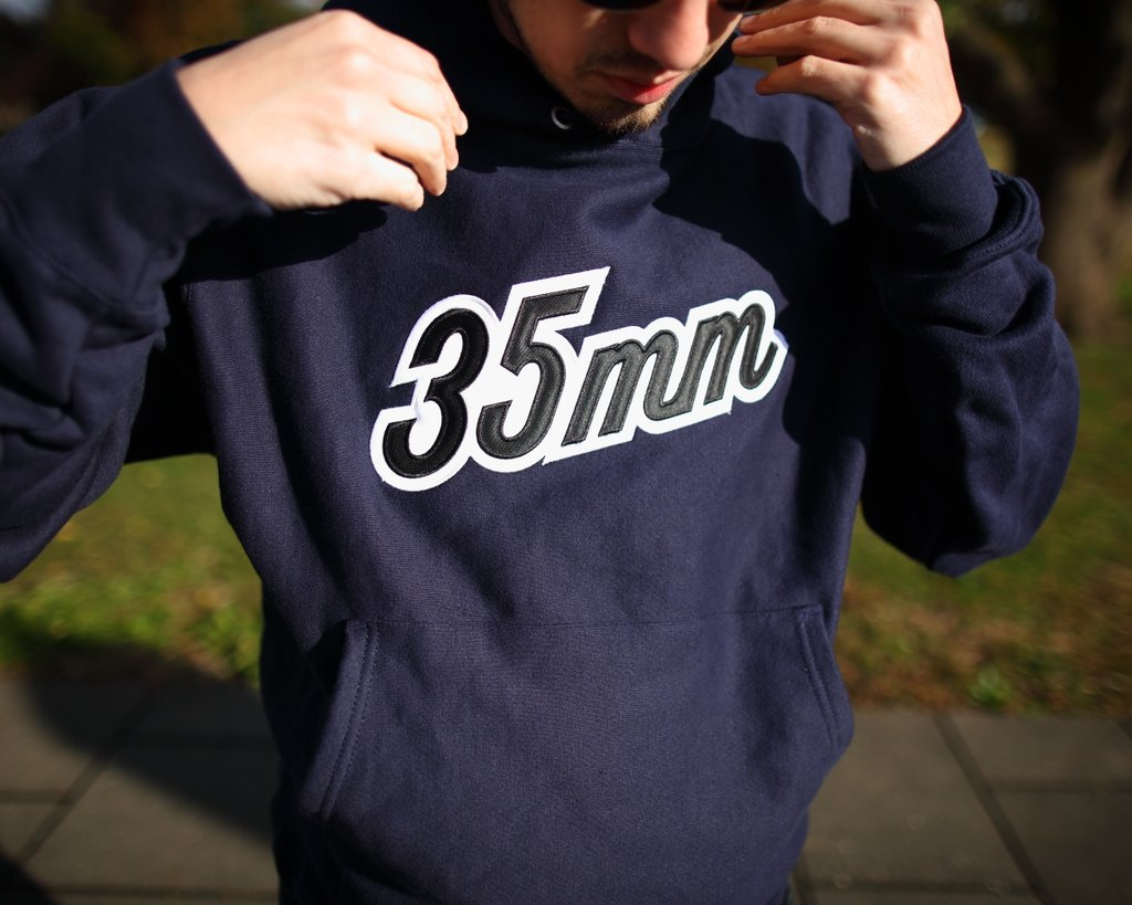 TogTees 35mm Embroidered Hoodie for Film Photographers