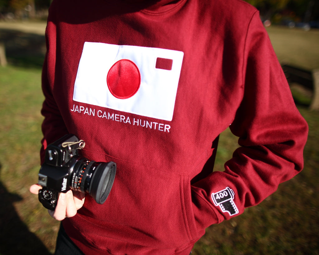TogTees x Japan Camera Hunter Hoodie for Film Photographers