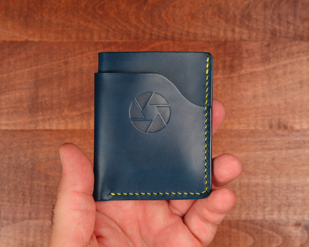 Aperture Leather Card Wallet Gift for Photographers