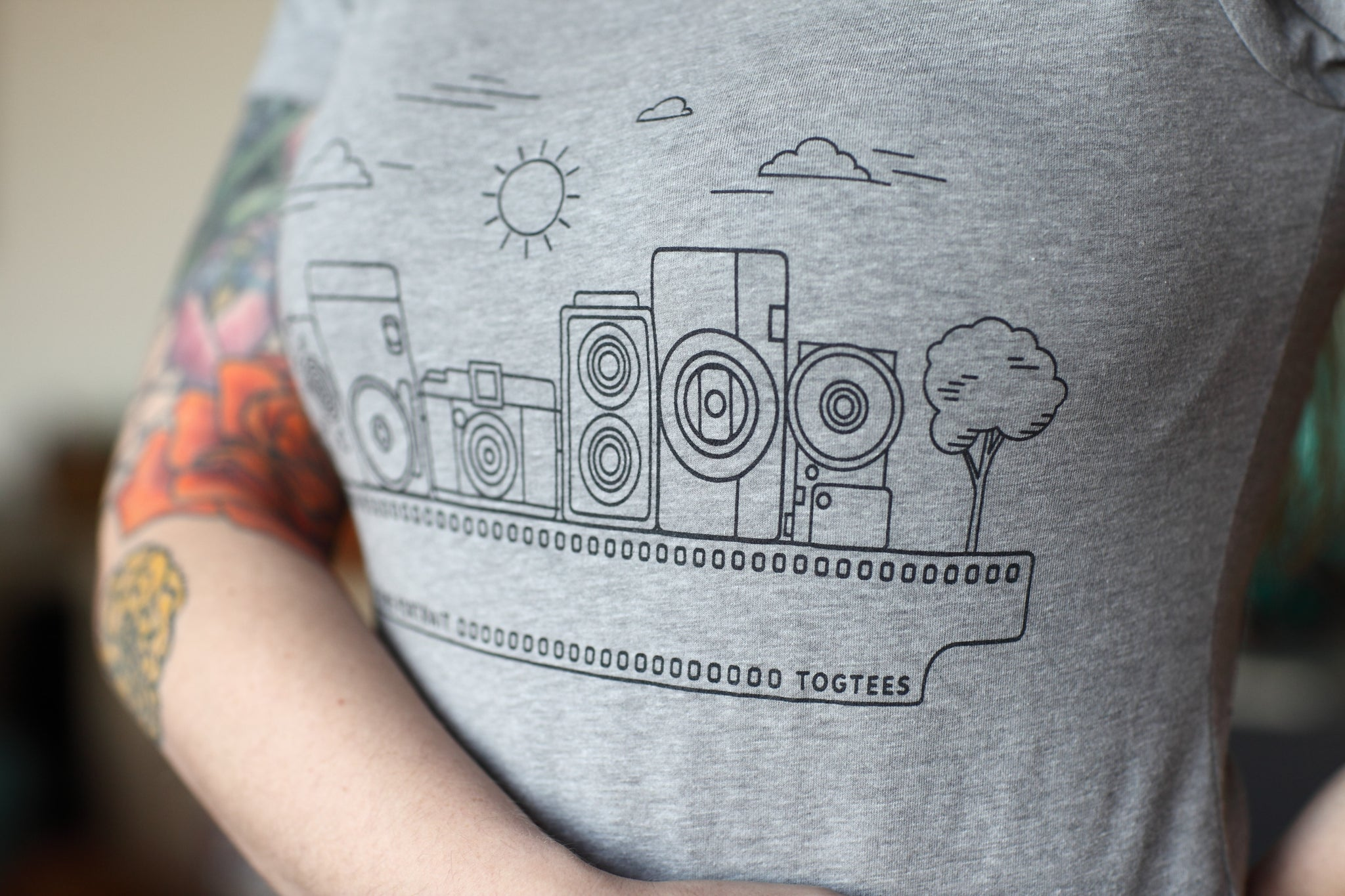TogTees PhillyHomePortrait Photography Tshirt