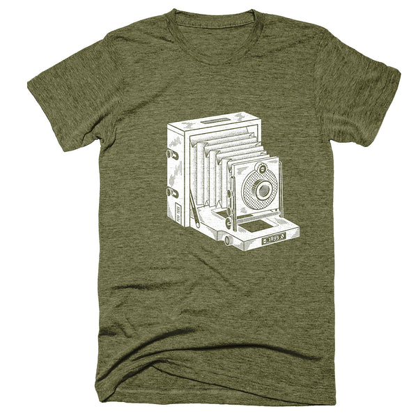 TogTees Instantograph 1893 Field Camera Photography T-Shirt