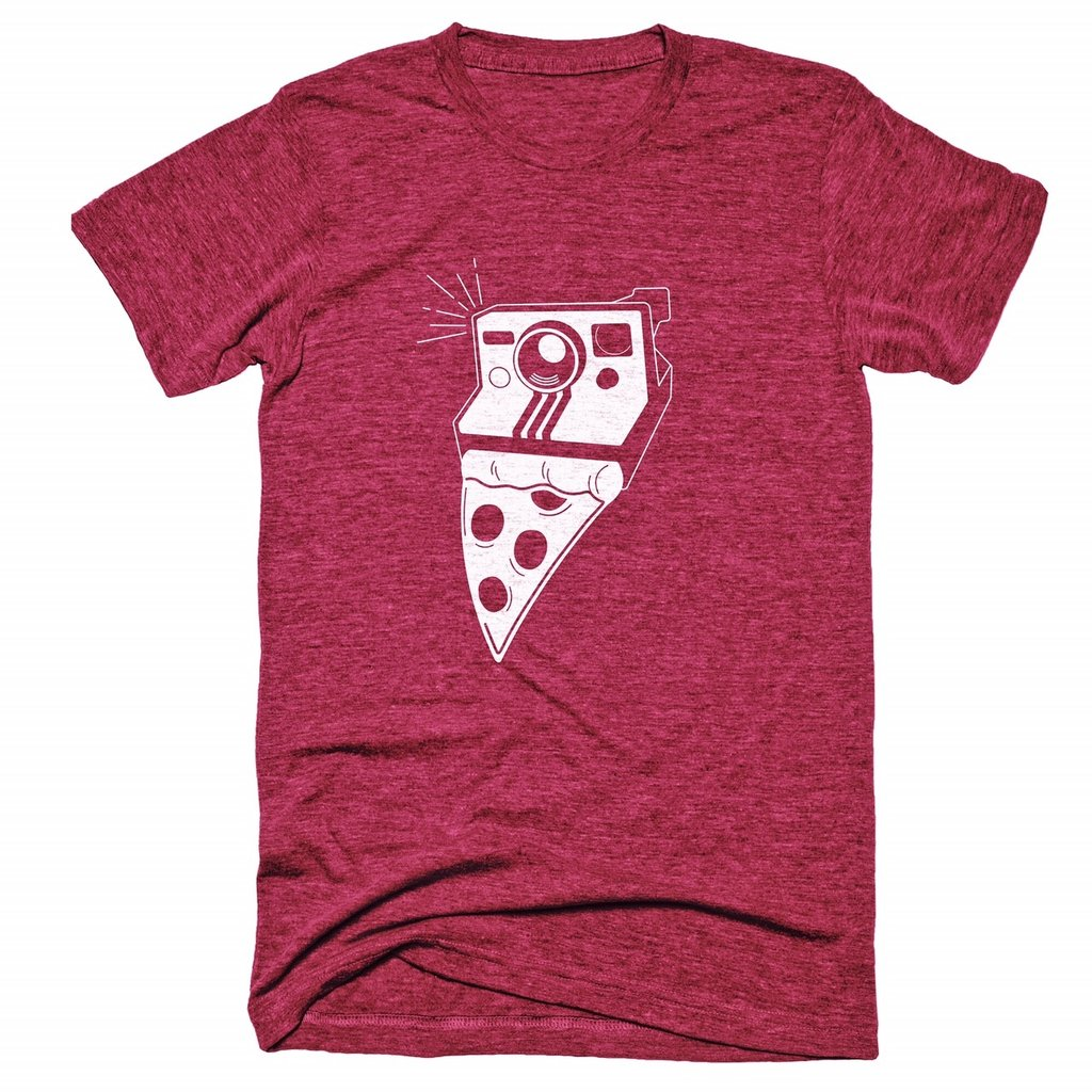 TogTees x Tim Landis Instant Classic Photography Pizza Tee