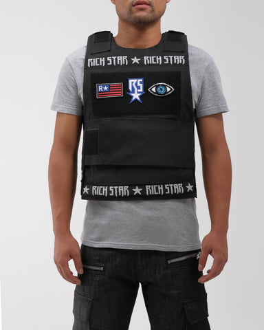 Rich Star Vest 2.0 (Black)