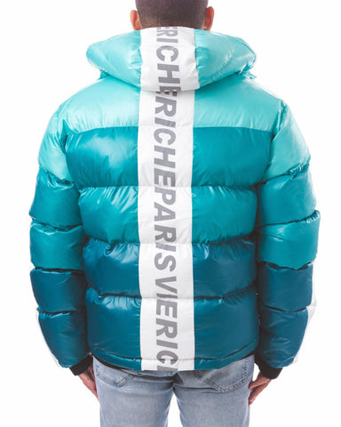 Vie+Riche Mint Based Bubble Jacket