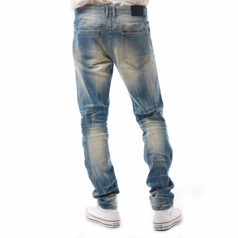 Smoke Rise Denim Jeans (Beach Blue)