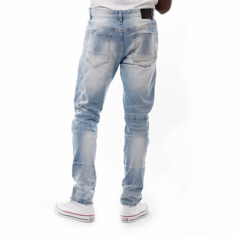 Smoke Rise Fashion Jeans (Blue Glass)