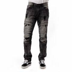 Smoke Rise Denim Jeans (Storm Black)