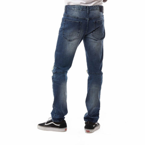 Smoke Rise Denim Jeans (Celestial Blue)