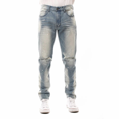 Smoke Rise Denim Jeans (Haze Blue)