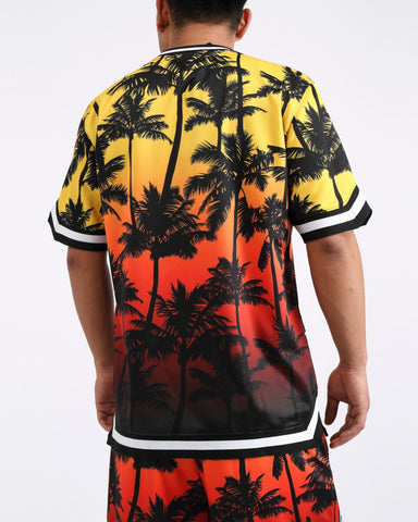 Hudson Shark Mouth Palms Jersey (Yellow)