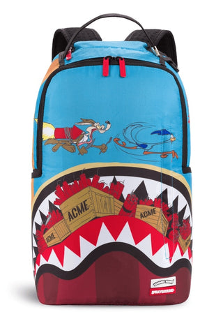 Sprayground Coyote Vs Roadrunner Shark Backpack