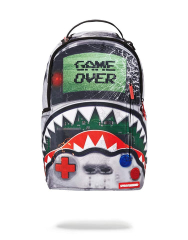 Sprayground Game Over Shark Backpack
