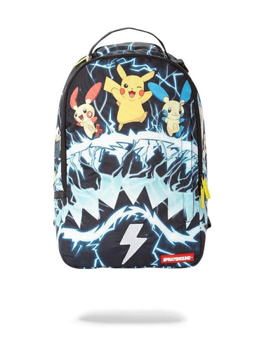 Sprayground Pikachu Electric Shark Backpack