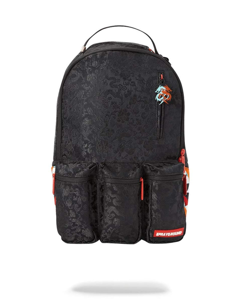 Sprayground Dragon Side Shark Cargo Backpack