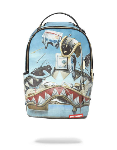 Sprayground Dali Shark Backpack