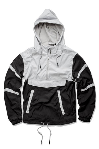 Jordan Craig Pullover Striped Windbreaker