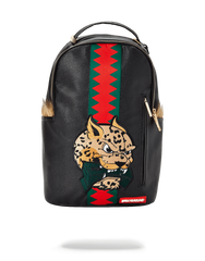 Sprayground Leopard Fur Money Backpack