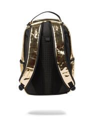 Sprayground Fine Gold Backpack