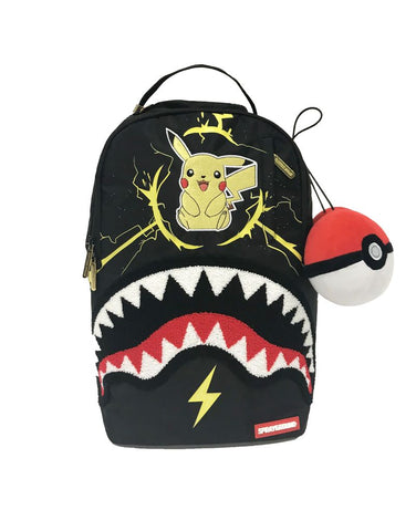 Sprayground Pikachu Shark Backpack