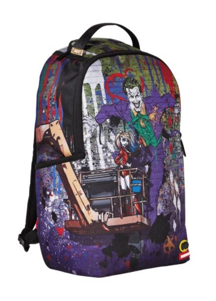 Srayground Joker Mural By Harley Quinn Backpack