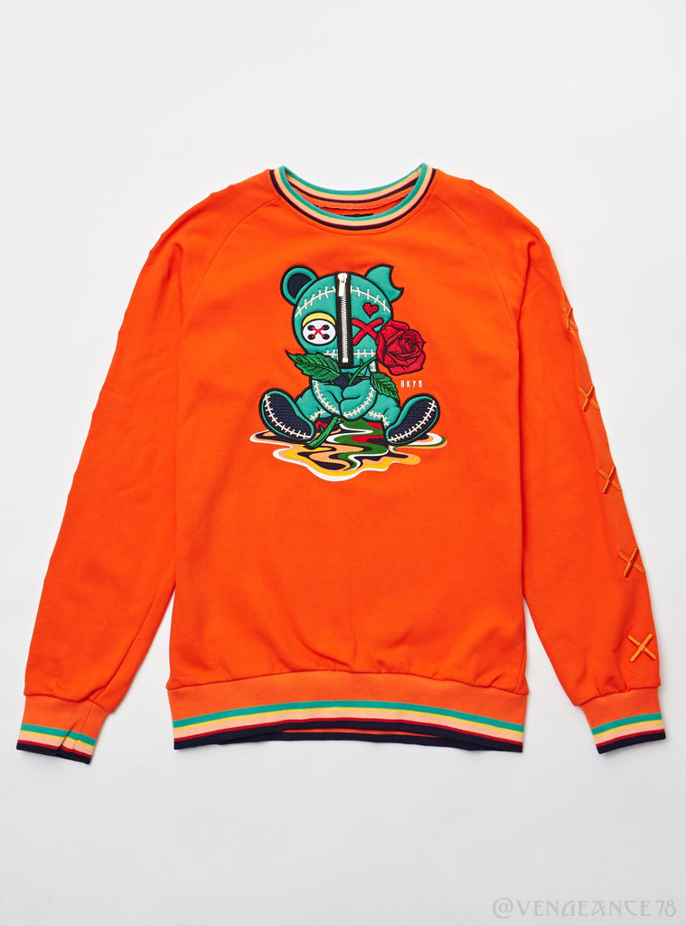 Black Keys Bear Crew Sweater