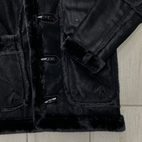 Jordan Craig Shearling Coat (Back)