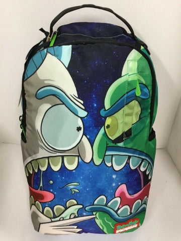Sprayground Rick & Morty Vs Zeep Backpack