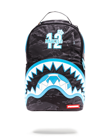 Sprayground Marcelo Blue Rubber Shark