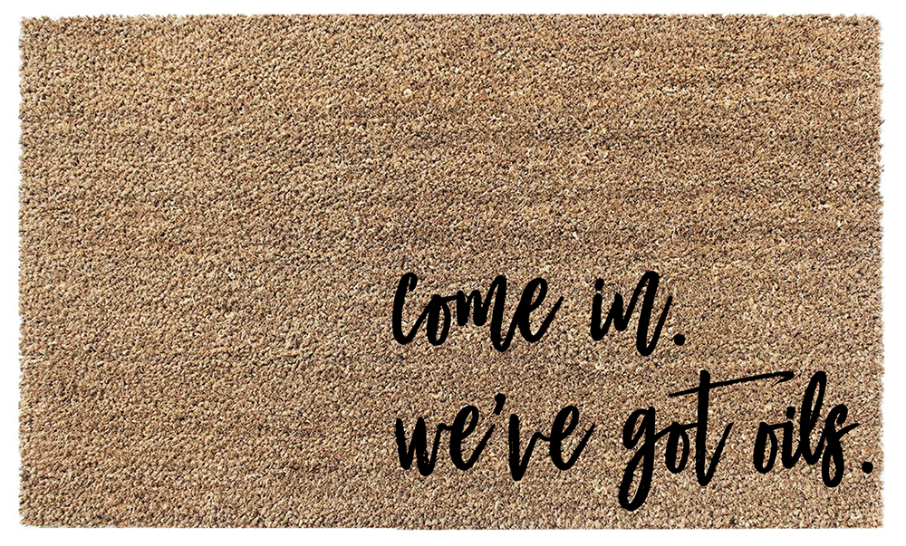Weu0027ve Got Oils Coir Doormat