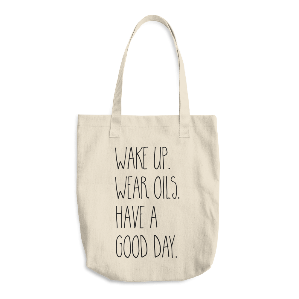 Wake Up Wear Oils Tote Bag