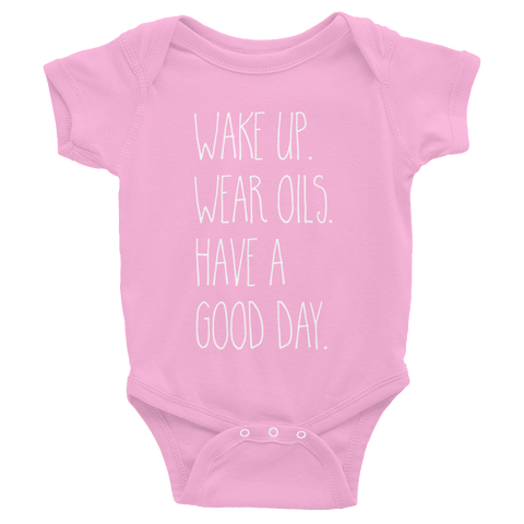 KIDS Wake Up Onesie