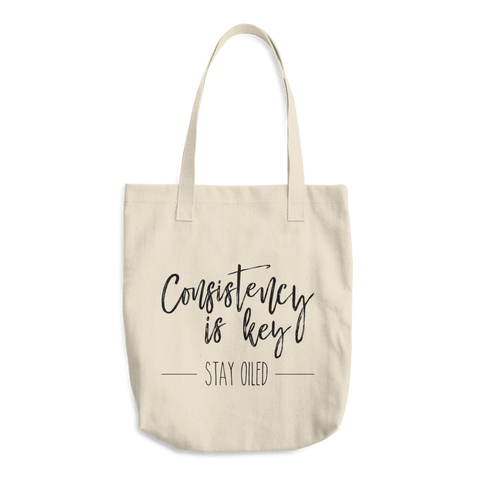 Consistency is Key Tote Bag