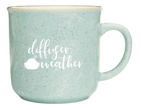 Diffuser Weather Marble Camper Mug