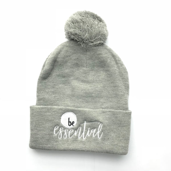 Be Essential Pom-Pom Hat